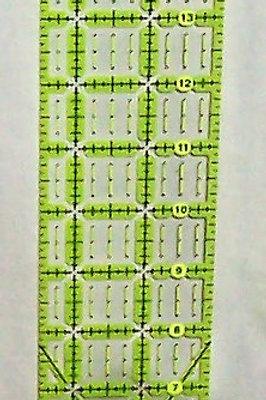 """Omnigrid Non-Slip Ruler 2-1/2"""" X 18"""""""