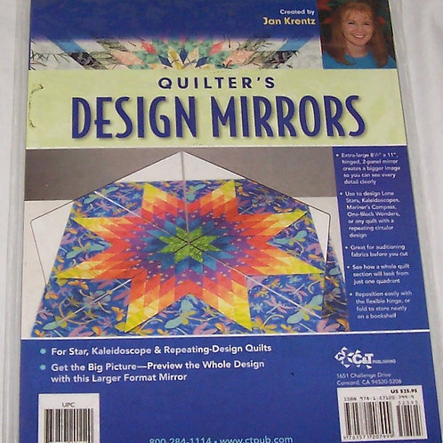 Jan Krentz Quilter's Design Mirrors for Star, Kaleidoscope and Repeating Design