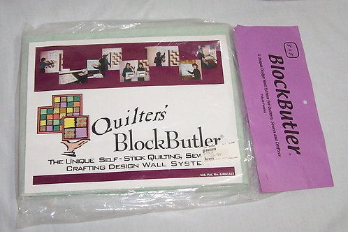 Quilters Block Butler 3'X3' Design Wall