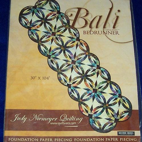 "Bali Bedrunner Judy Niemeyer Pattern 30""X104"""