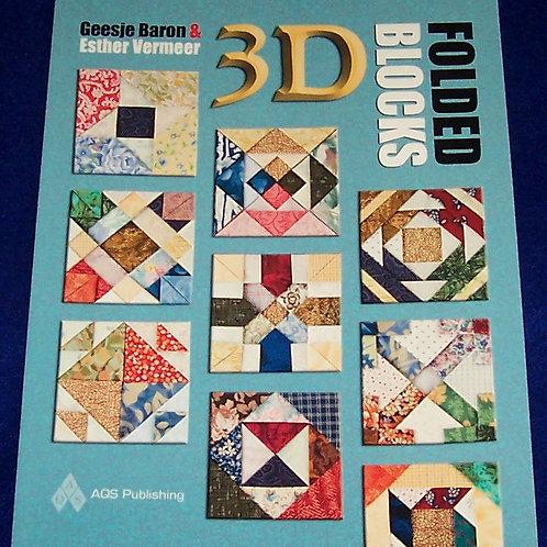 3D Folded Blocks Geesje Baron Esther Vermeer
