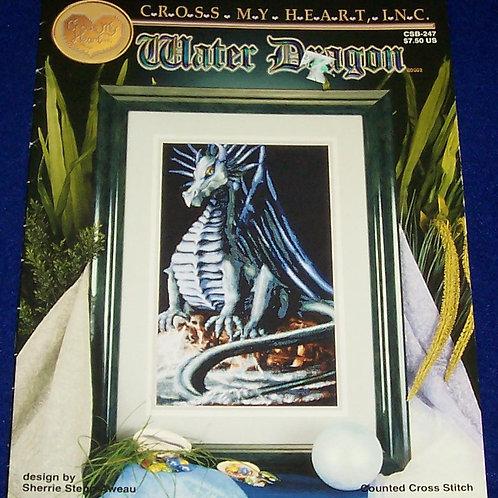 Cross Stitch Pattern Water Dragon Sherrie Stepp-Aweau Stitch Chart