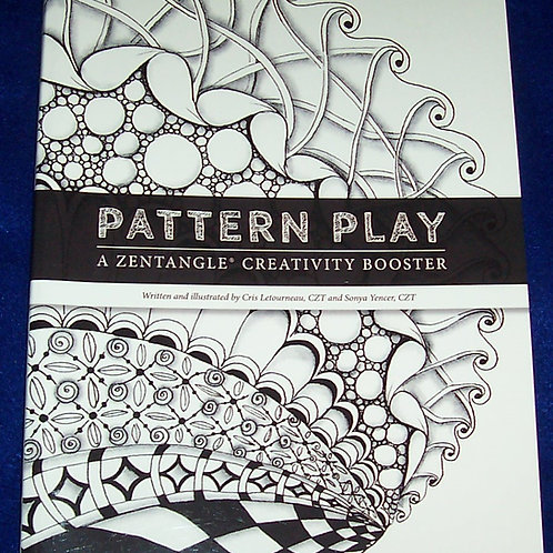 Pattern Play Zentangle Book Cris Letourneau and Sonya Yencer