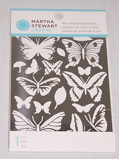 Martha Stewart Crafts Dry Embossing Stencil 1 Piece