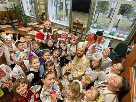 18 грудня до нашого ліцею завітав Святий Миколай