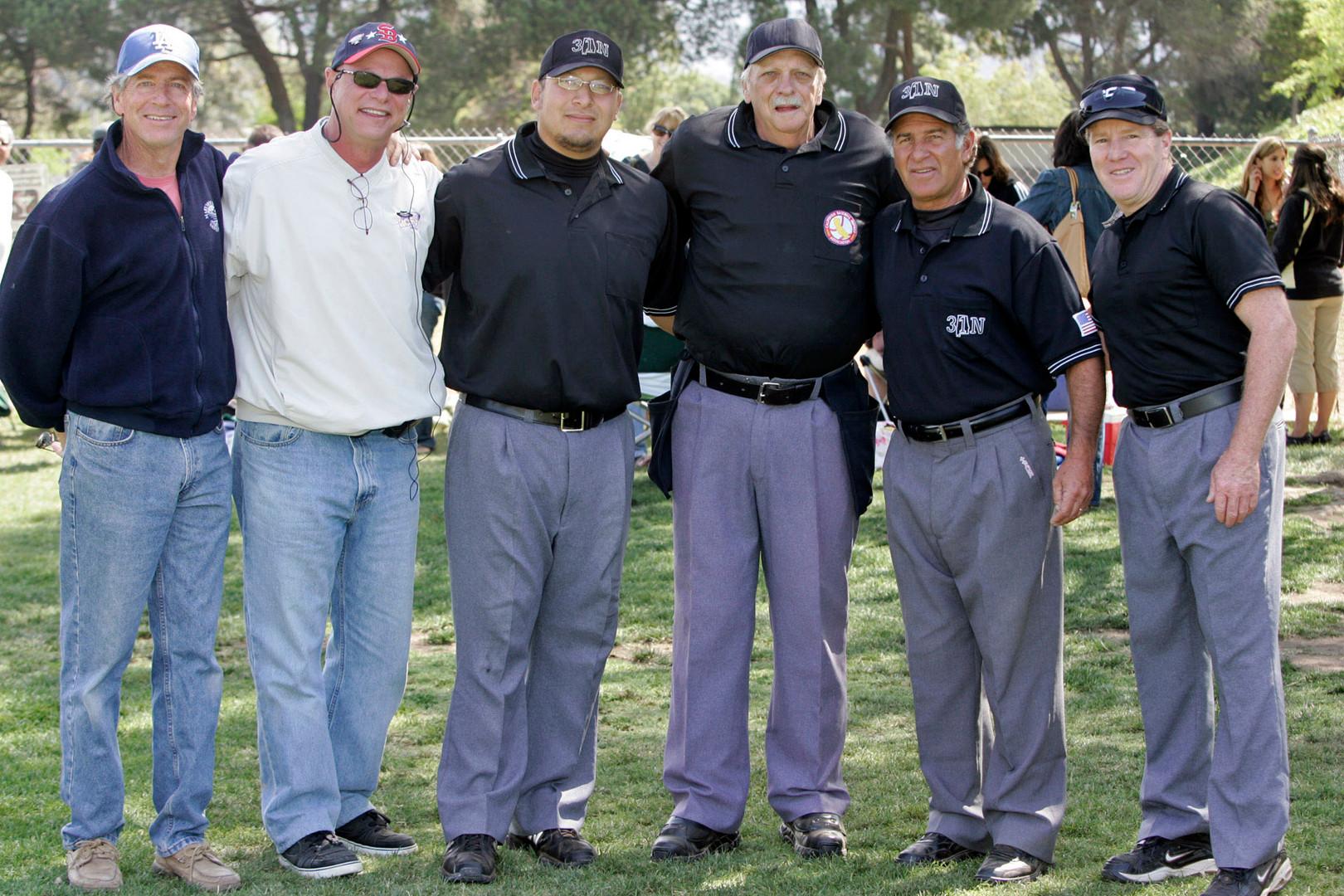 1. Chuck Rose w Umpires Memorial Day Tou