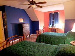 Bedroom 1 upstairs - 2 twin beds