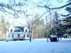 Big yard with wrap around driveway
