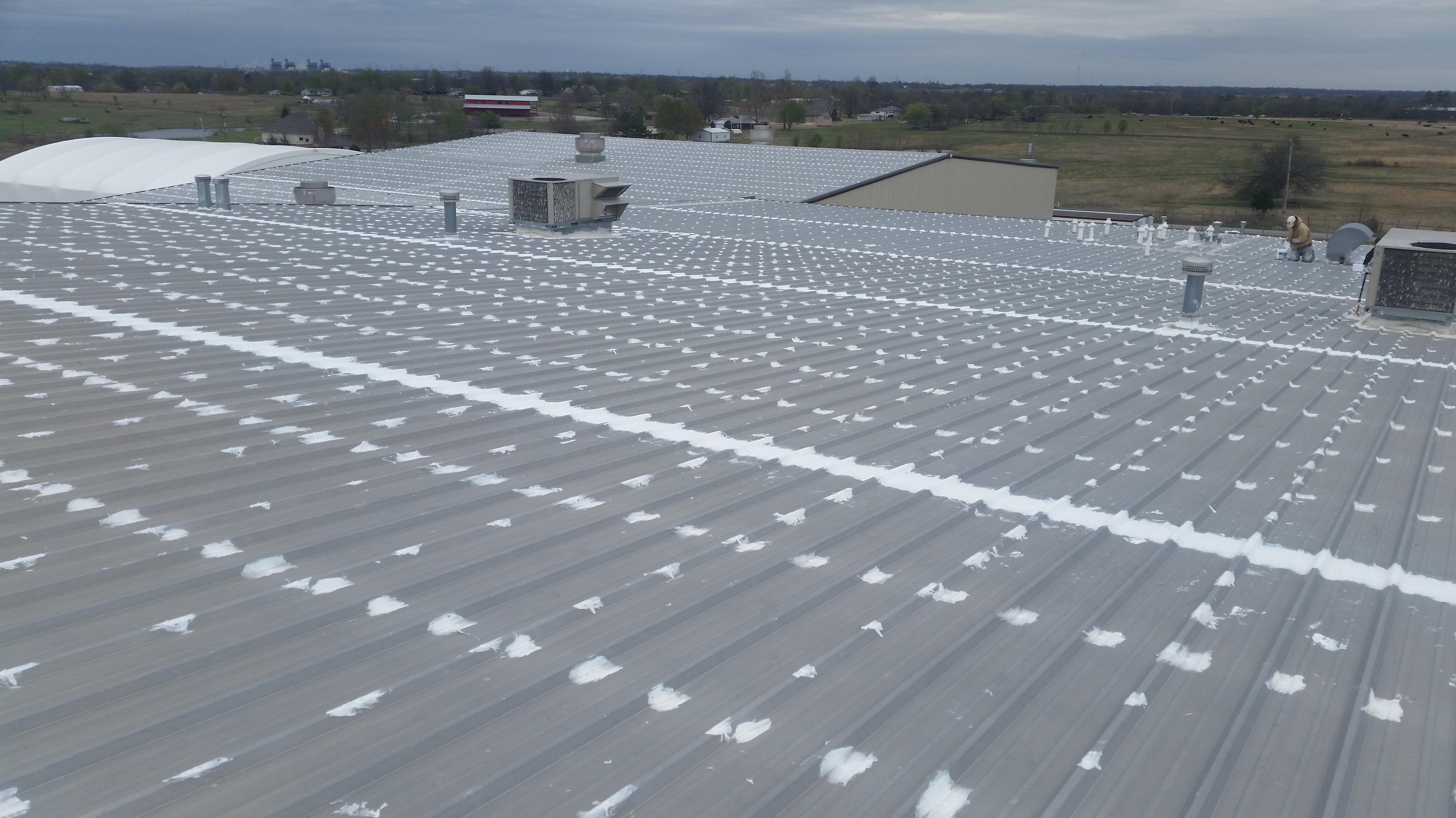 Flat roof repair Tulsa Oklahoma