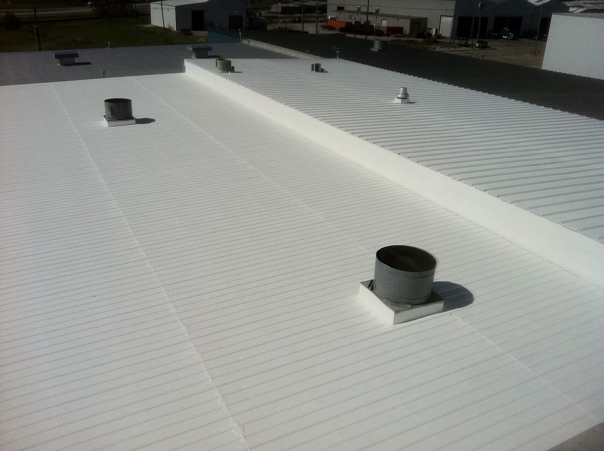 Polyurethane Foam Roof