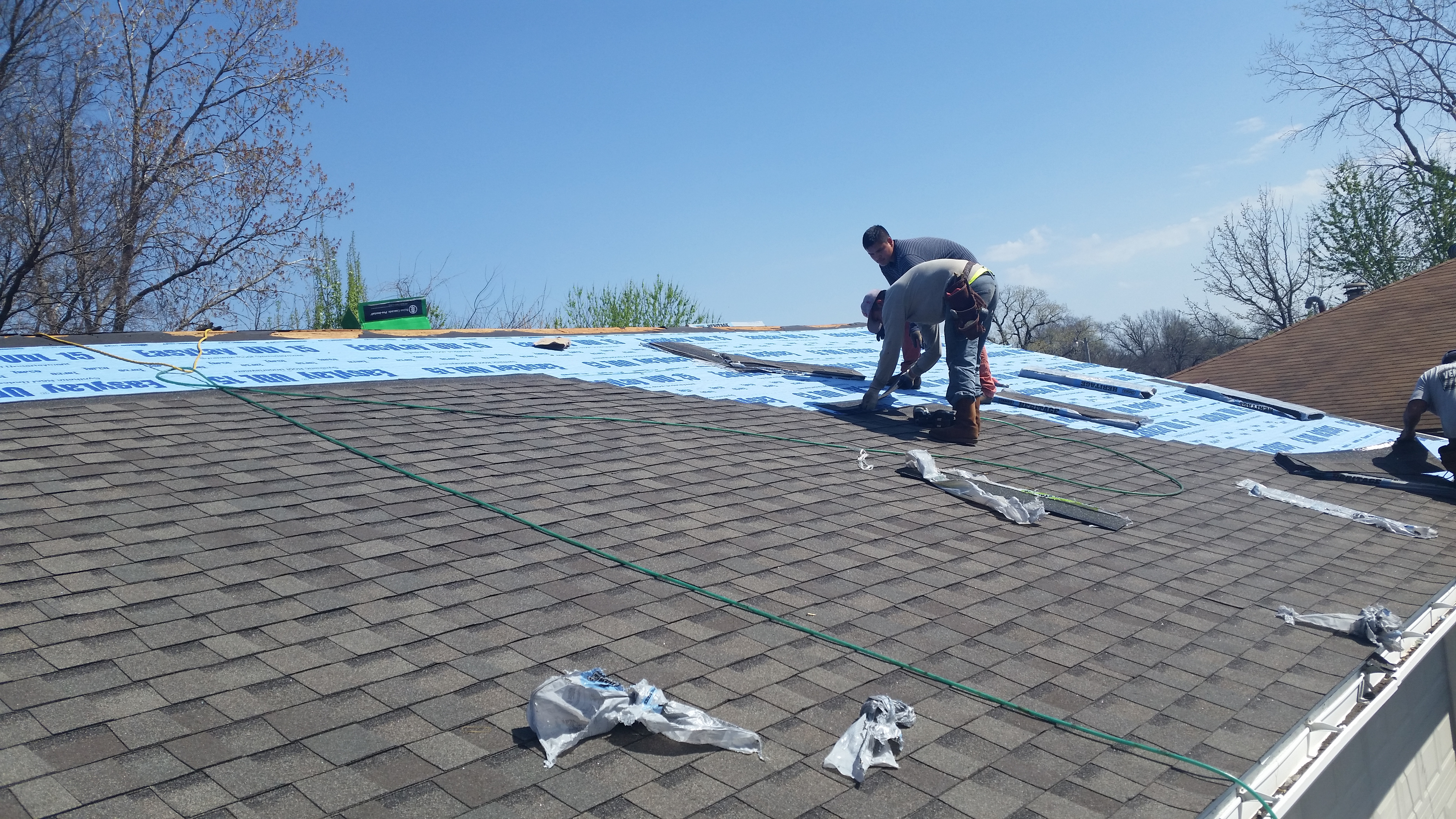Flat roof contractor Tulsa