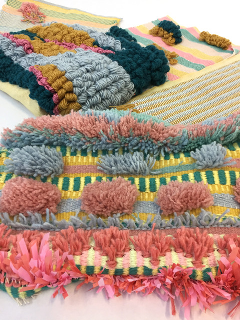 Hand Weaving Samples