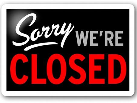 Strandpaviljoen Dushi 2.0 tijdelijk gesloten.