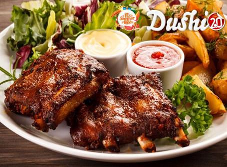 Nieuw! Af te halen bij Dushi 2.0, de lekkerste Spare ribs van Noord-Limburg!