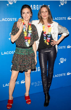 Camille Chamoux & Camille Cottin