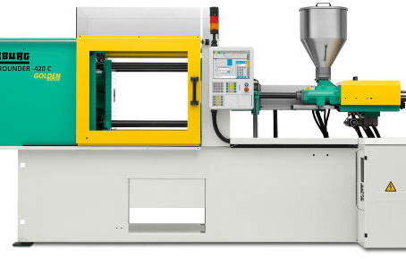 Amey Plastics take delivery of two new Arburg Injection Moulding Machines