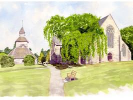 Bell Tower & St Marys, Pembridge