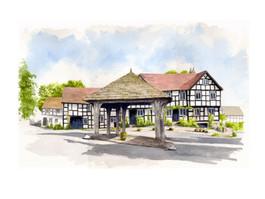 New Inn & Marcket Hall Pembridge