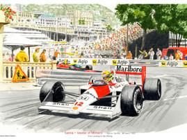 Ayrton Senna - Monaco