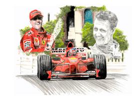 Schumacher Monaco 1999
