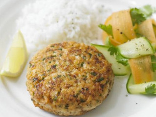 Healthy Eating- Superhealthy salmon burgers