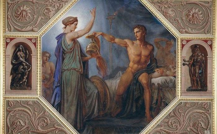 Thetis brings Achilles armour