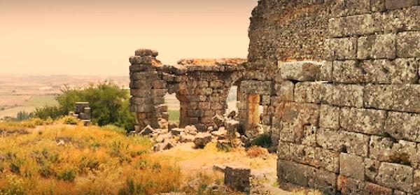 silyon antik kenti antalya