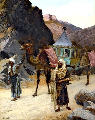 The-Palanquin-Rudolf-Ernst-Oil-Painting.