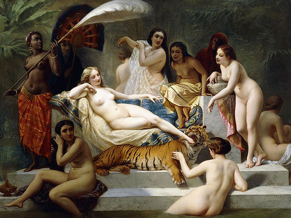 Odalisque Art Print by Henri Pierre Pico