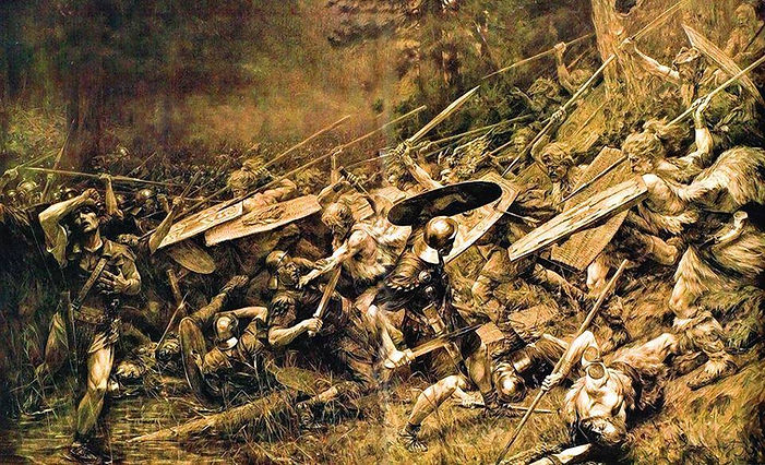 papa jovanovic germanic-roman wars.jpg