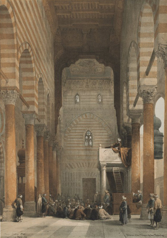 1849 Egypt and Nubia,  Interior of the M