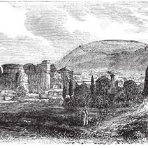 Serapeion an old illustration