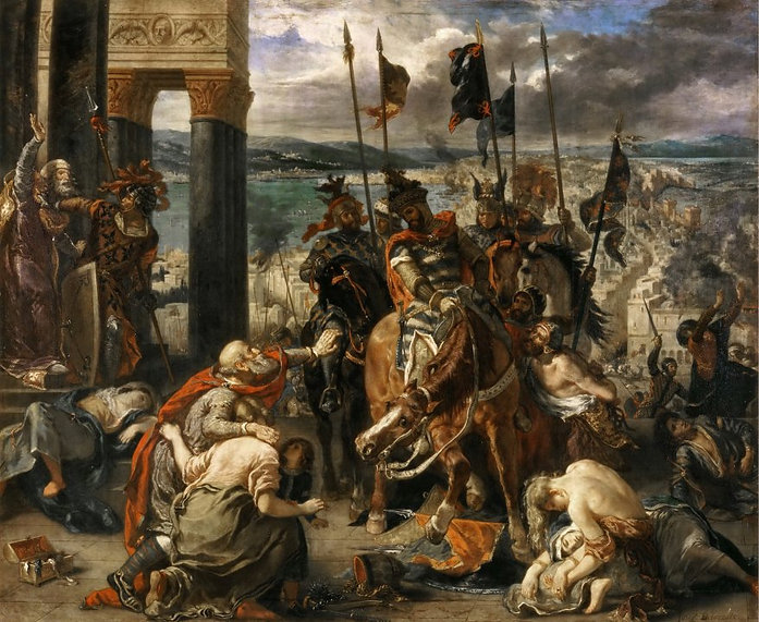 «The_Crusaders_Entering_Constantinople»,