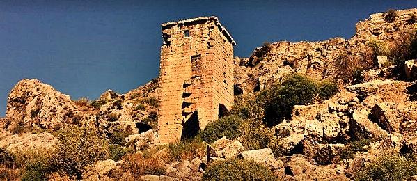 kule-silyon antik kenti antalya