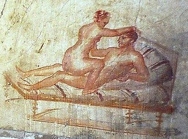 Pompeii, House of the Vettii - sex sceen