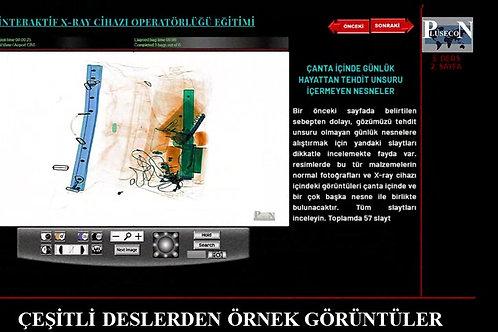Uzaktan-Online / İnteraktif X-ray Operatörlüğü Kursu ve Sertifikası