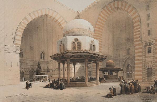 1848 Egypt and Nubia, Volume III; Mosque
