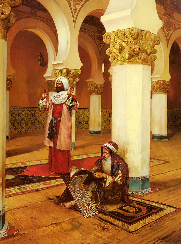 Evening Prayer  Rudolf Ernst.jpg