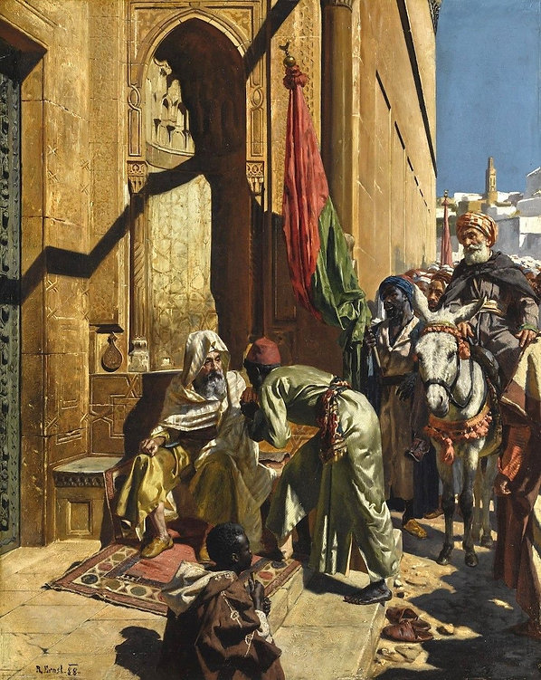 The-Fortune-Teller-Cairo-Rudolf-Ernst-Oi