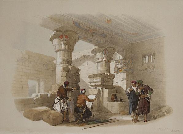 Egypt and Nubia, Volume II; Dayr-El-Mede
