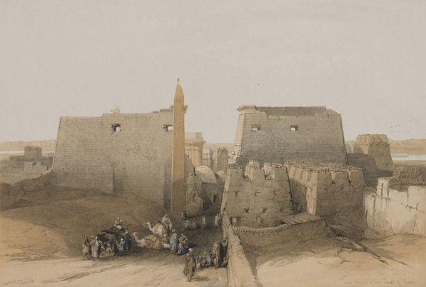 1848 Egypt and Nubia, Volume II; Grand E