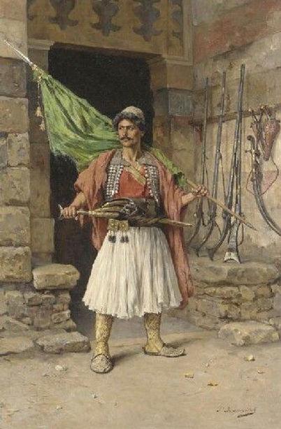 The Albanian Warrior in Egypt 1810.jpg