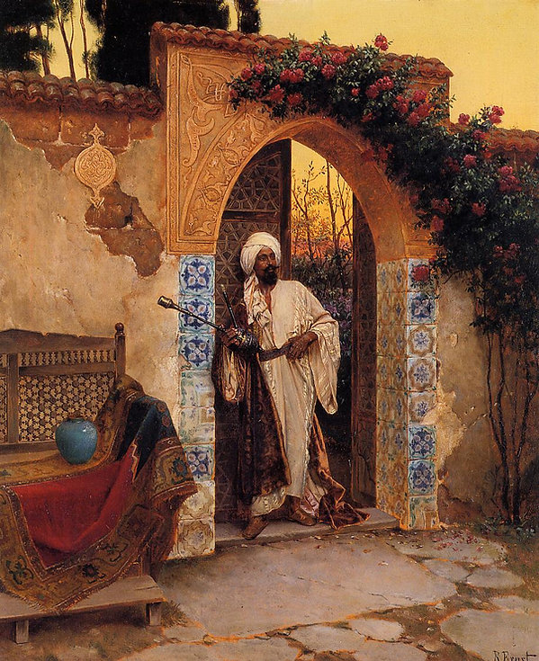 By the Entrance Rudolf Ernst.jpg