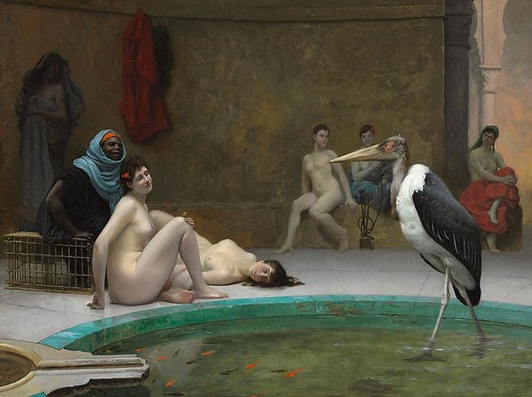 The Stork In The Harem Bath House Art Pr