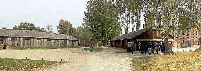 Auschwitz toplama kampı iç alanlar