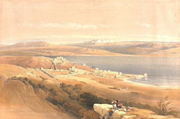1839_City_of_Tiberias_on_the_Sea_of_Gali