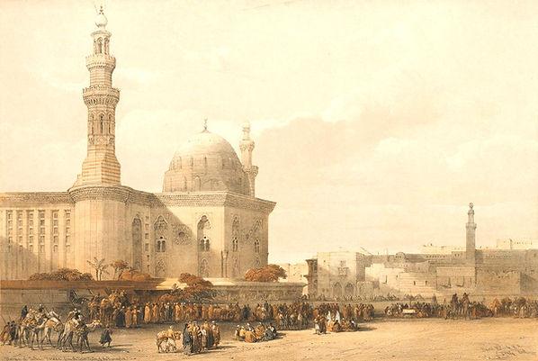 1849_Egypt_and_Nubia,_Volume_III;_Mosque