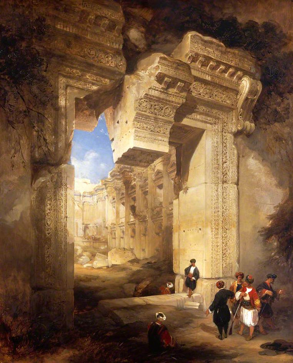 1841 The Gateway to the Great Temple at