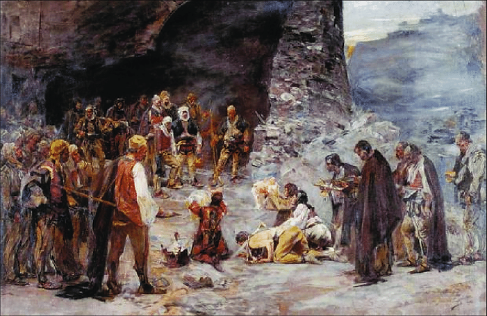 Paja-Jovanovic-Umir-krvi-truce-1889-The-