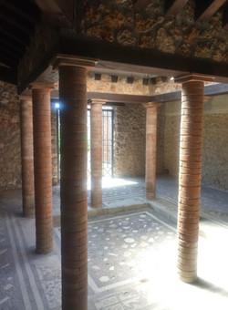 Residence interiors Pompei